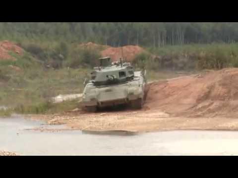 Nga công bố clip cảnh siêu xe tăng Armata tập luyện