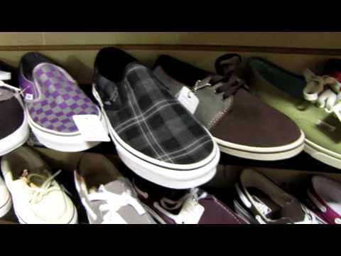 Vans Shoes &quot;Off The Wall&quot; Selection Pt.2, Worlds widest selection of Converse Allstar Chuck Taylor Shoes. All Vans Shoes...