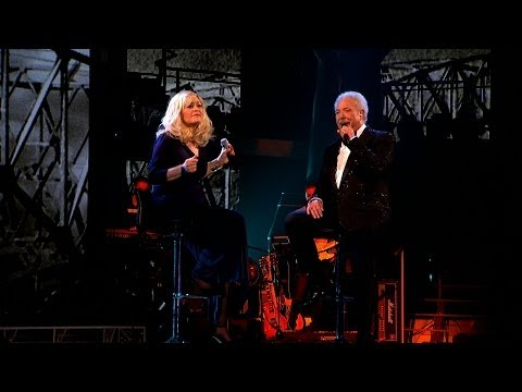 Sir Tom Jones & Sally Barker sing 'Walking In Memphis' - The Voice UK 2014: The Live Finals - BBC