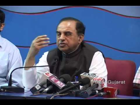 Subramanian Swamy makes fresh revelations on Rahul Gandhi and Sonia Gandhi in Ahmedabad Gujarat