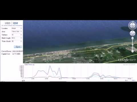 UBD | IBM 3D Wind Farm Design and Management System