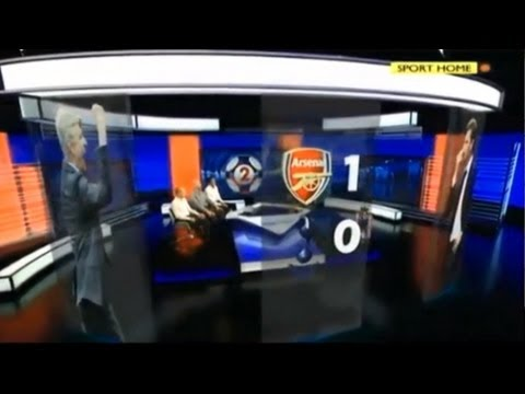 Arsenal vs Tottenham 1-0 - MOTD (01-09-13)
