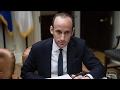 Who Is Trumps White House Adviser Stephen Miller?