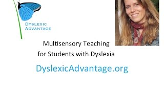 Multisensory Teaching For Dyslexic Students Dr Erica