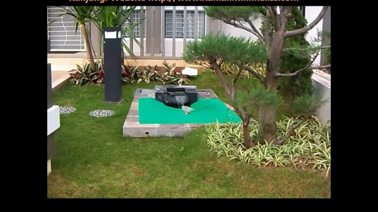 Rumah Minimalis Lantai Kanopi Dan Taman Youtube