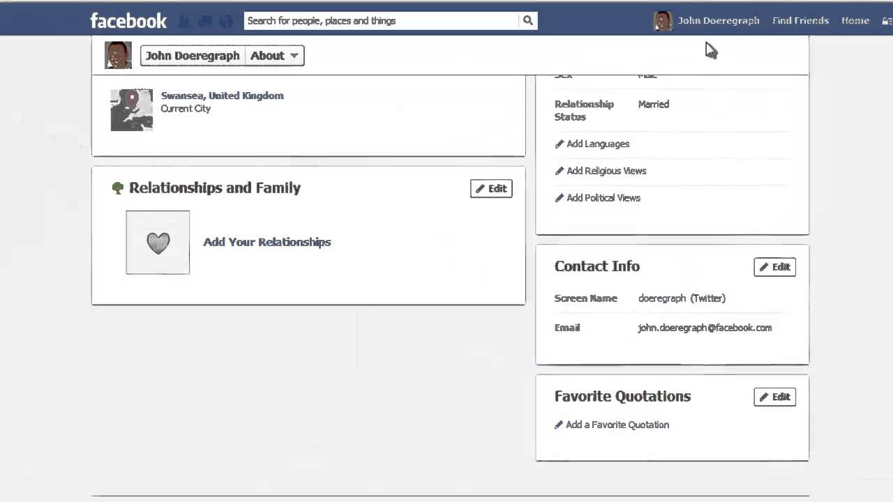How to Hide Facebook Relationship Status Change - YouTube