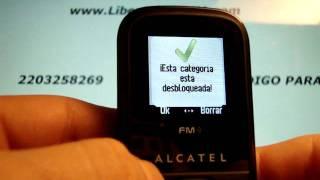 Liberar Alcatel 306 En Www.decodigos.com