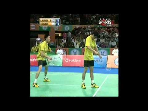IBL 2013   Final  Hyderabad HotShots LIM GOH vs  Awadhe Warriors KIDO BOE game 1