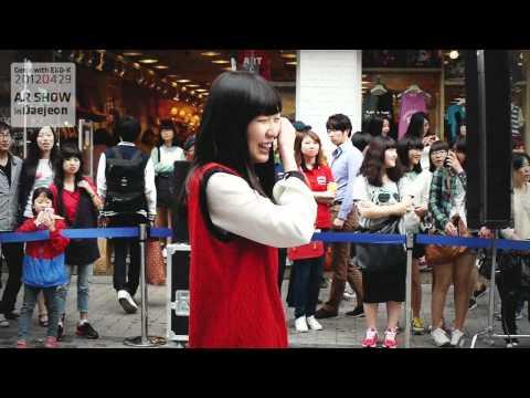 """Genie with """"EXO-K"""" AR SHOW in DaeJeon, Korea (Making film 20120429)"""