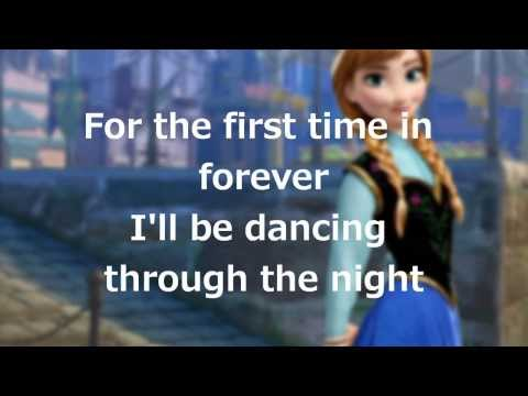 For the First Time in Forever Lyrics - Frozen