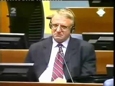 Приговорённый серб о русских