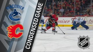 12/09/17 Condensed Game: Canucks @ Flames