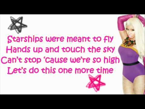 Nicki Minaj - Starship (Explicit) With Lyrics Video