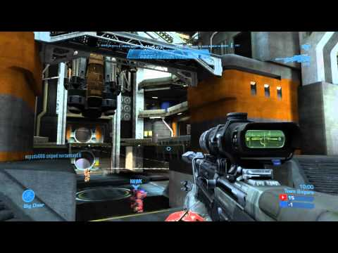Halo Reach: Live Commentary #1 - Team Snipers