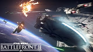 Star Wars Battlefront 2 - Starfighter Assault Játékmenet Trailer