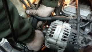 How To Easy Way Remove Replace Serpentine Belt Tensioner
