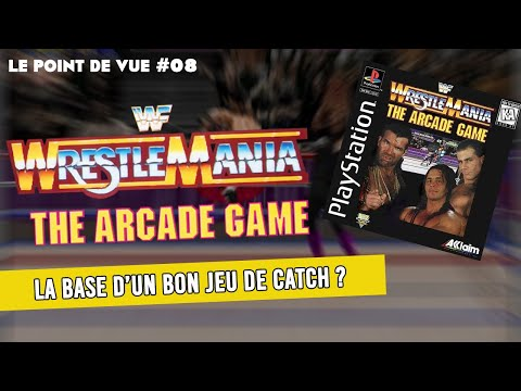 Le Point de Vue - Wrestlemania Arcade Game