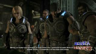 Gears Of War 3 Análise Santa Games HD