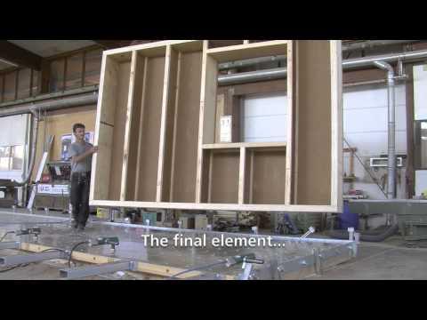 Steico - Construction of an energy-plus building