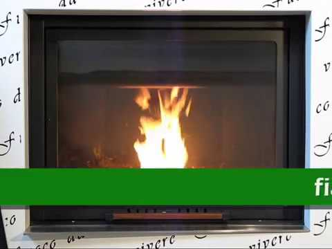 termocamino legna pellet revolution aliberti youtube