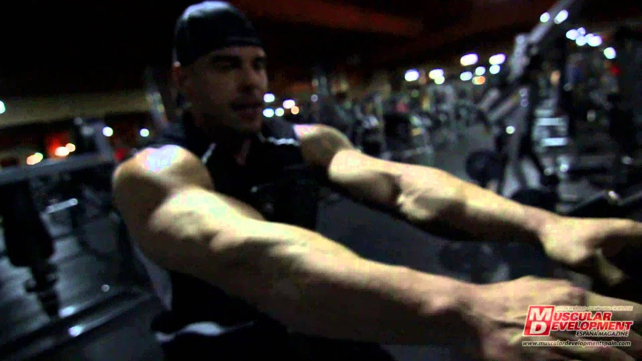 Sergio Fdez & Andrew - Back Workout in Las Vegas. Protein ...