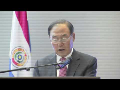 Hak-Lae Son at Symposium on Paraguay and South Korea Relations