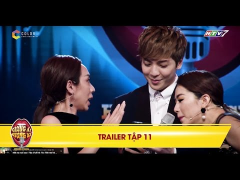 Giọng ải giọng ai | trailer tập 11: Thu Trang bất chấp lên sân khấu xin số soái ca Hàn Quốc