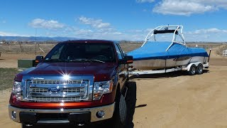 2014 Ford F-150 CNG 0-60 MPH Towing Test: Gas Vs Natural