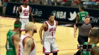 NBA 2K13 Game : Chicago Bulls Vs Boston Celtics