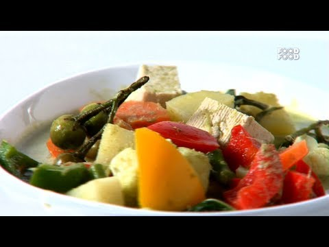 Green Vagetable Curry Thai Style - Sanjeev Kapoor's Kitchen