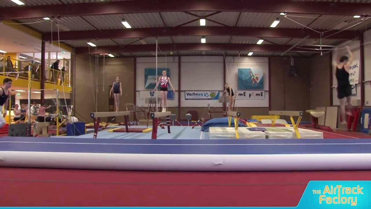 airtrack p3 gymnastics youtube. Black Bedroom Furniture Sets. Home Design Ideas