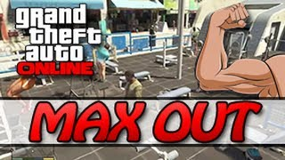 GTA 5 ONLINE MAX OUT YOUR STRENGTH FAST (5 MINUTES/LEVEL