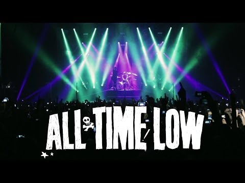 All Time Low - The Irony of Choking on a Lifesaver (Live Music Video)