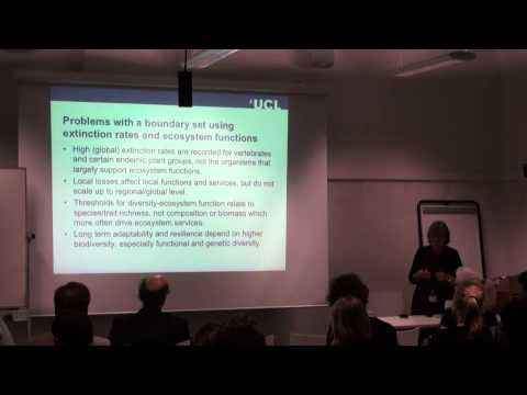 ISR Seminar: Biodiversity conservation in a resource hungry world