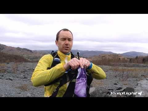 Raidlight Running Vest 10L Black/Yellow (2x 600ml Flasks Included)