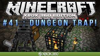 """Minecraft Xbox """"DUNGEON TRAP!"""" Survival #41"""