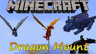 Minecraft 1.6.2 Dragon Mount / Español
