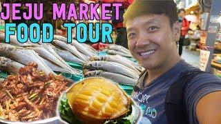 "TRADITIONAL Korean Market FOOD TOUR: ""Five Day Market"" in South Korea"