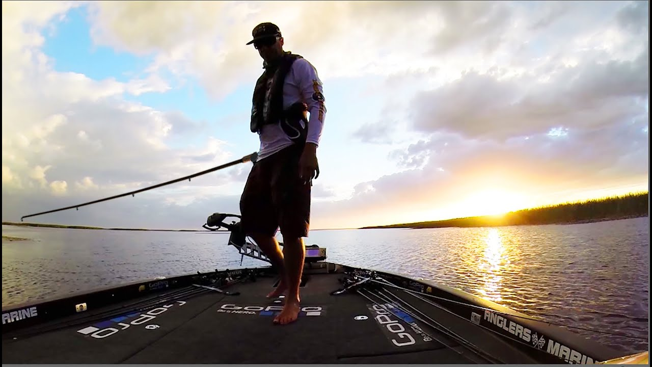 Gopro bass fishing with brent ehrler youtube for Best gopro for fishing