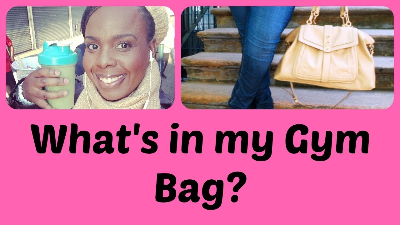 What's in my Gym Bag? | Weight Loss | Plus Size Fitness ...