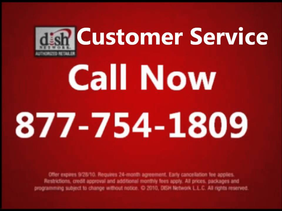 A phone number for dish network