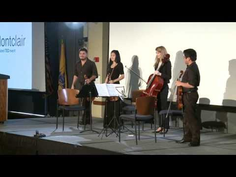 Performance : Montclair State University String Quartet at TEDxMontclair
