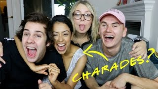 CHARADES CHALLENGE! ft. Liza Koshy, David Dobrik, & Corinna Kopf