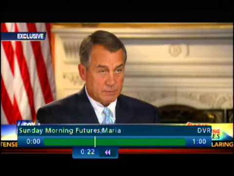 House Speaker John Boehner on FOX News - 5/11/2014