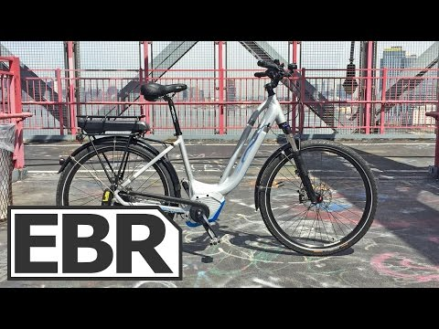 Corratec LIFEBIKE Video Review - Sturdy Step-Thru with NuVinci Harmony Electronic Auto Shift
