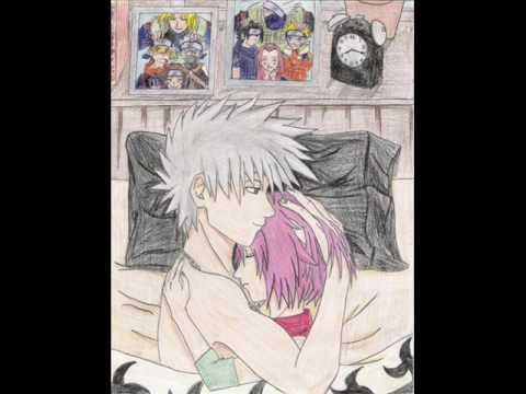 kakashi and sakura!, this hase a lot of love pic's!