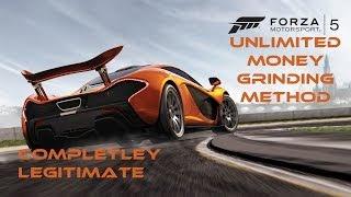 Infinite Money Forza 5 Credit Grinding Method