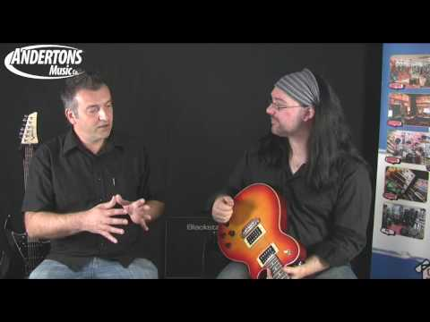 James Tyler Variax JTV-59 Guitar Demo and Overview - Part 2
