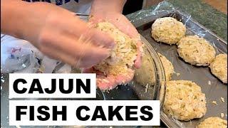 CATCH & COOK   Cajun Fish Cakes   Speckled Trout Recipe