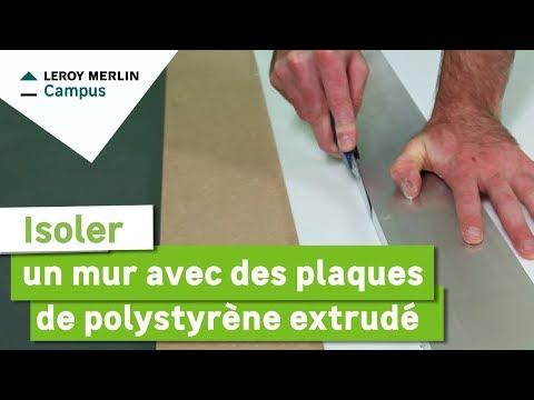 Plaque de polystyrène isolant